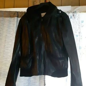 Jacket.  Leather fits small